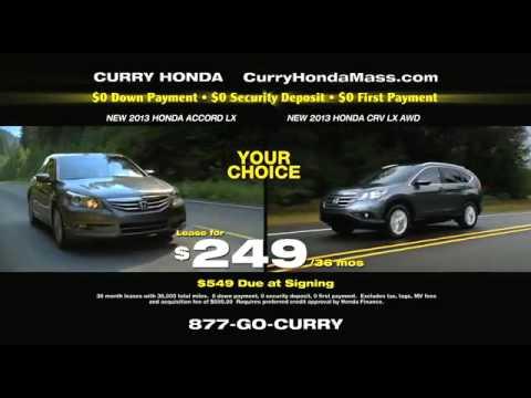 Curry Honda Chicopee 2013 Sales Event