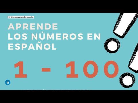 Los Números 1-100 - YouTube