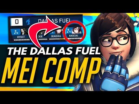 Overwatch | HOW THE PROS USED MEI - Dallas Fuels Mei/Reaper Strat