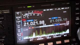 icom ic 7600 vs yaesu ftdx 3000