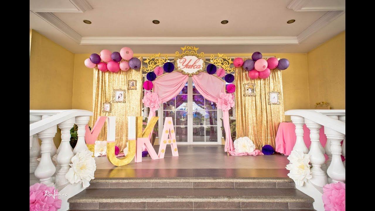 Yuka S Disney Princess Themed 7th Birthday Party At