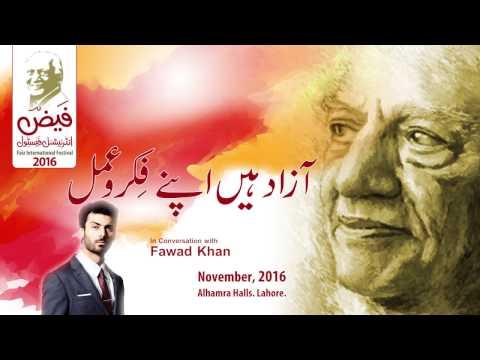 Fawad Khan in conversation with Adeel Hashmi