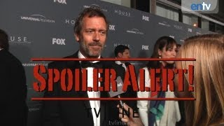 """House"" Series Finale Scoop with Hugh Laurie, David Shore, Omar Epps - SPOILER ALERT!: ENTV"