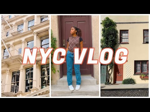 COLLEGE VLOG || A FALL DAY IN MY LIFE IN NYC || 2020