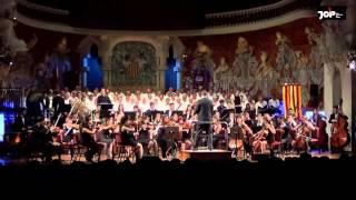 PALAU DE LA MÚSICA CATALANA - CANTATA 1714-2014 JOP Jove Orquestra de Ponent - Albert Dalmases Paris