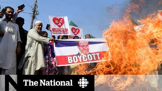 Macron's defence of Muhammad cartoons prompts protests in Muslim-majority countries