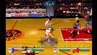 NBA Jam Extreme **Chicago Bulls Vs Sacramento Kings** (HD)