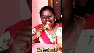 #TamilfoodiesDivya Eating style in Leg 🍗 piece  😘