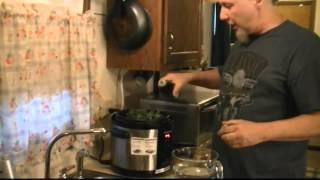Pressure Cooker Smoked Ham Hocks Greens And Raw Beans Cuisinart