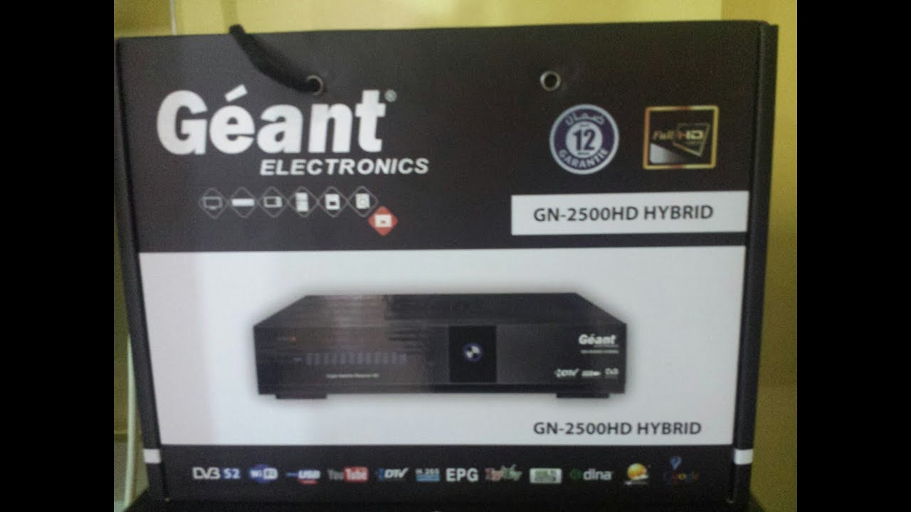 flash demo geant 2500hd hybrid gratuit