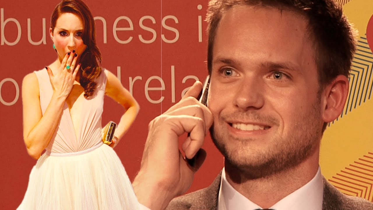 Patrick j adams suits takes unexpected call from girlfriend patrick j adams suits takes unexpected call from girlfriend troian bellisario at ucd dublin youtube thecheapjerseys Gallery
