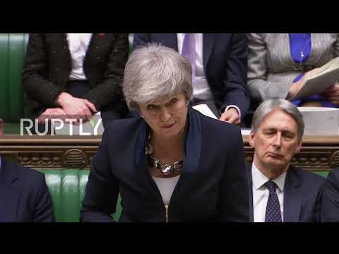 UK: May promises vote on no deal and article 50 extension if her deal fails