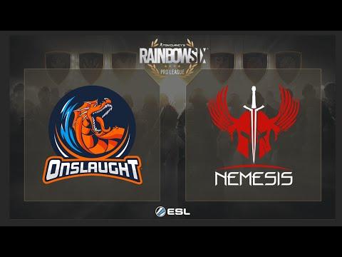 R6S - Onslaught ESports Vs. Nemesis - ESL Rainbow Six Pro League On XBOX ONE NA Play Day 6