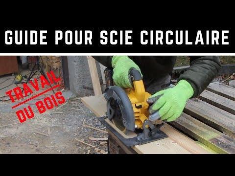 Fabrication d'un guide pour la scie circulaire - Gagnez en précision !