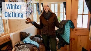 Life in a Tiny House called Fy Nyth - Winter Clothing