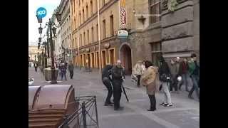«100 ТВ»: Кошка Василиса пропала с фасада на Малой Садовой.