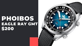 БЕЗ СЛАБЫХ МЕСТ! Phoibos Eagle Ray GMT + розыгрыш Kentex