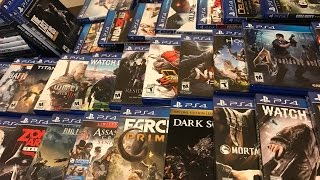PlayStation 4 Game Collection 2017
