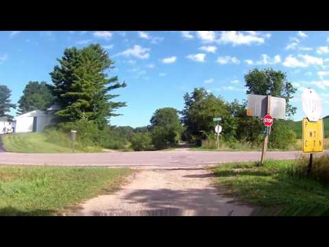 Omaha Trail (Northbound) Elroy to Camp Douglas. WI - Part 1