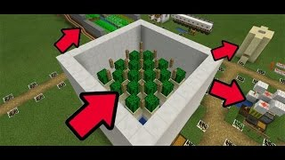 8 SUPER FARMS AUTOMÁTICAS PARA MCPE 0.15.1 ! MINECRAFT PE 0.15.1 (Minecraft Pocket Edition)