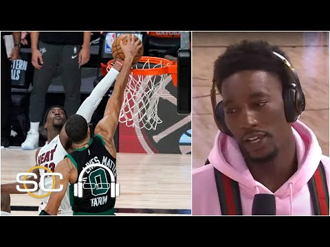 'I couldn't register what happened' - Bam Adebayo reacts to his Jayson Tatum block   SC with SVP