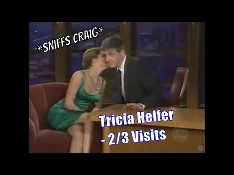 "Tricia Helfer - ""You Smell Better Than Leno & Letterman""- 2/3 Visits In Chron. Order [Low Quality]"