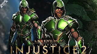 Injustice 2 Online - EPIC GREEN ARROW HOOD GEAR!
