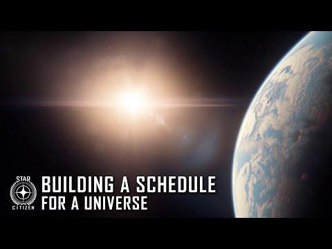 Star Citizen: Building a Schedule for a Universe