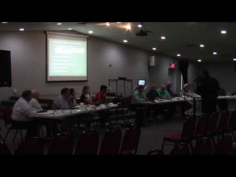 Conflicting events + schedule selection phosphate mine consultant