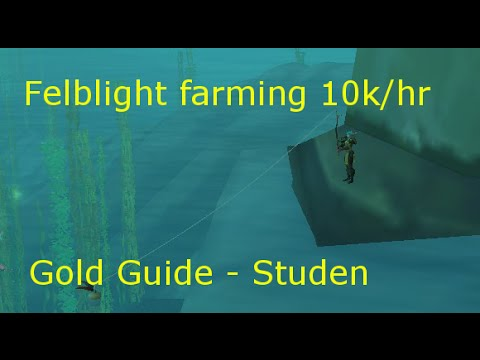 World Of Warcraft Felblight Farming 6.2 : Fishing 10k/hr Wod Gold Farm Route