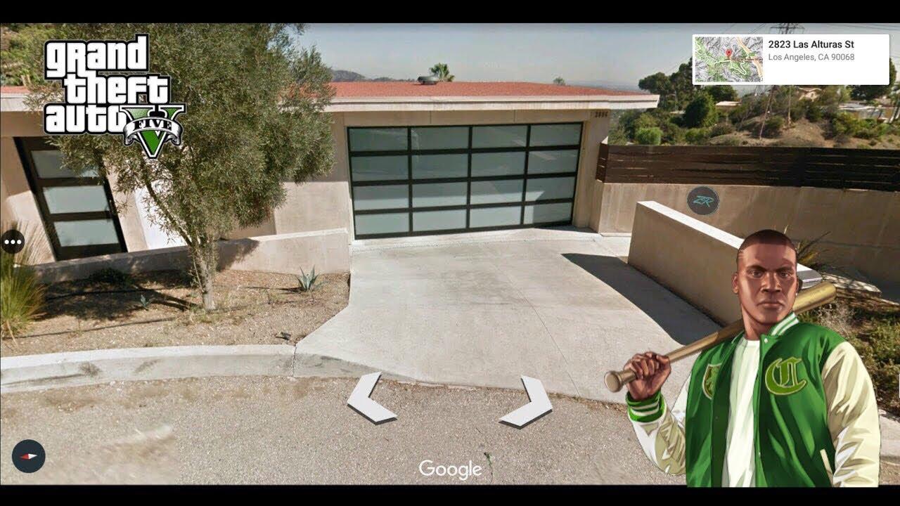 GTA 5 Franklin Clinton's Real Life House Location - Address