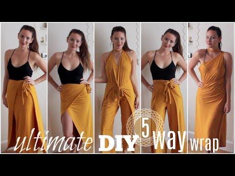 Ultimate DIY Wrap | 1 Piece 5 Ways
