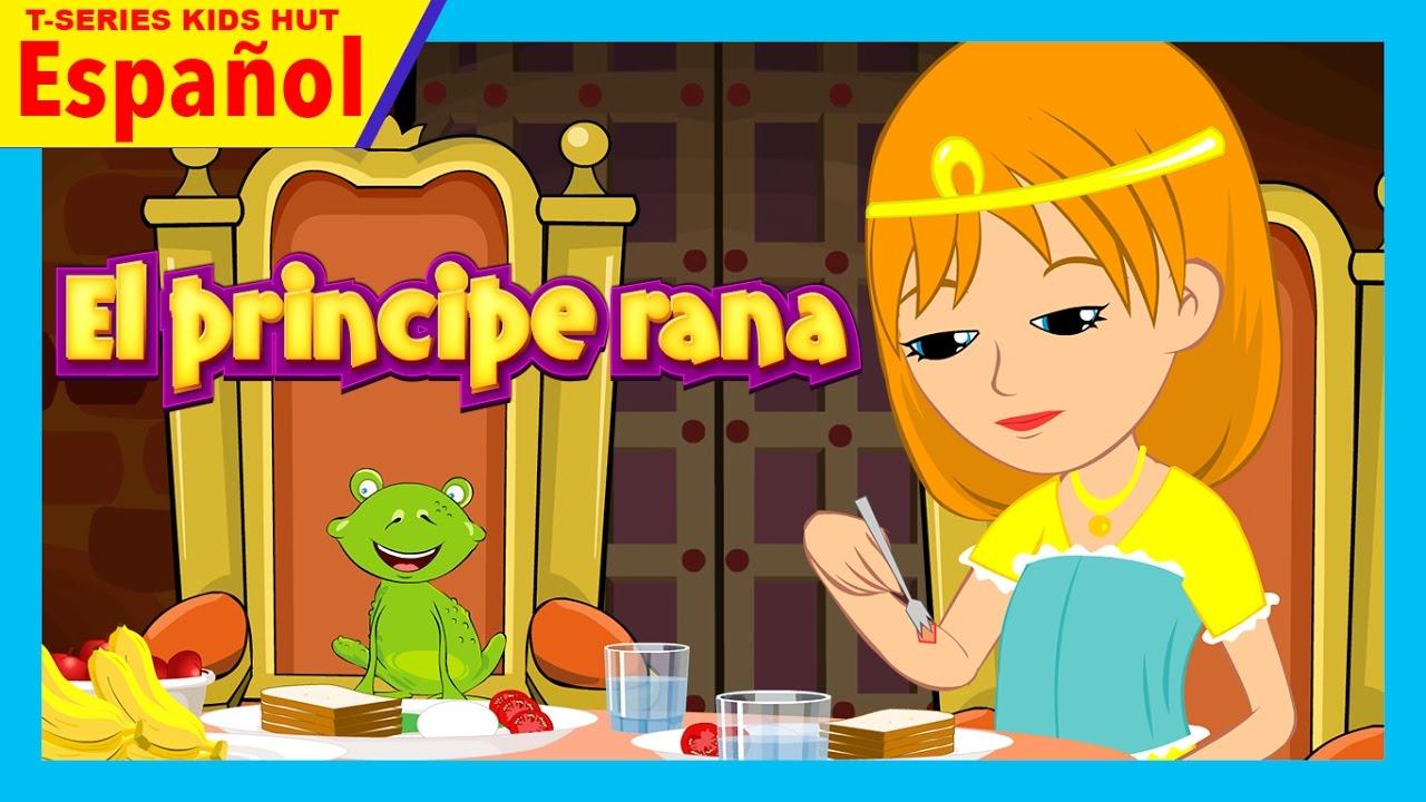 el principe rana historia completa en español || cuentos en español ...