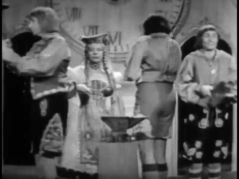 SID CAESAR: The Bavarian Clock (YOUR SHOW OF SHOWS, Sep 26, 1953)