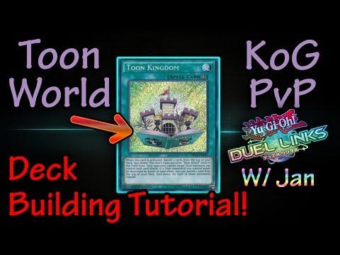 Yugioh Duel Links | Toon World / Königreich KoG PvP Deck Tutorial | w/ Gimbplays & Jan! [DEU/GER]