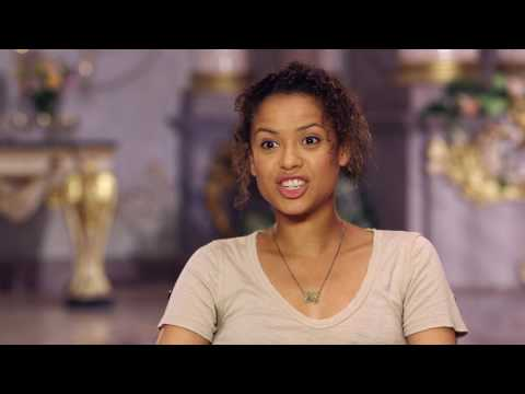 """Beauty and the Beast: Gugu Mbatha-Raw """"Plumette"""" Behind the Scenes Movie Interview"""