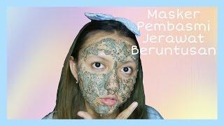 HARUS DI COBA! MASKER GREEN TEA AMPUH BUAT HILANGIN JERAWAT BERUNTUSAN | Khansamanda