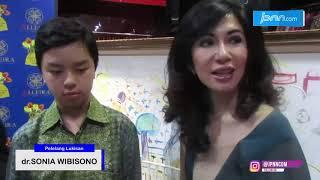 dr.Sonia Wibisono Lelang Lukisan Anak untuk Penderita Down Syndrome - JPNN.COM