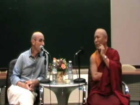 Geshe Pema Dorje & dr. Yair Avraham c.b.t & buddhism pt 1