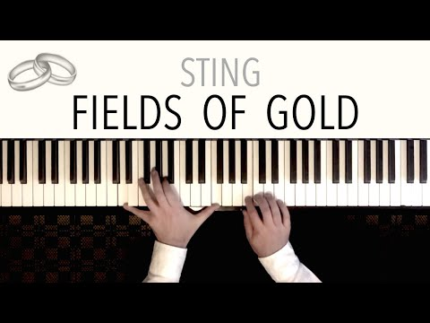 Sting - Fields Of Gold Wedding  - featuring Beethoven&39;s &39;Ode To Joy&39;  Piano Cover