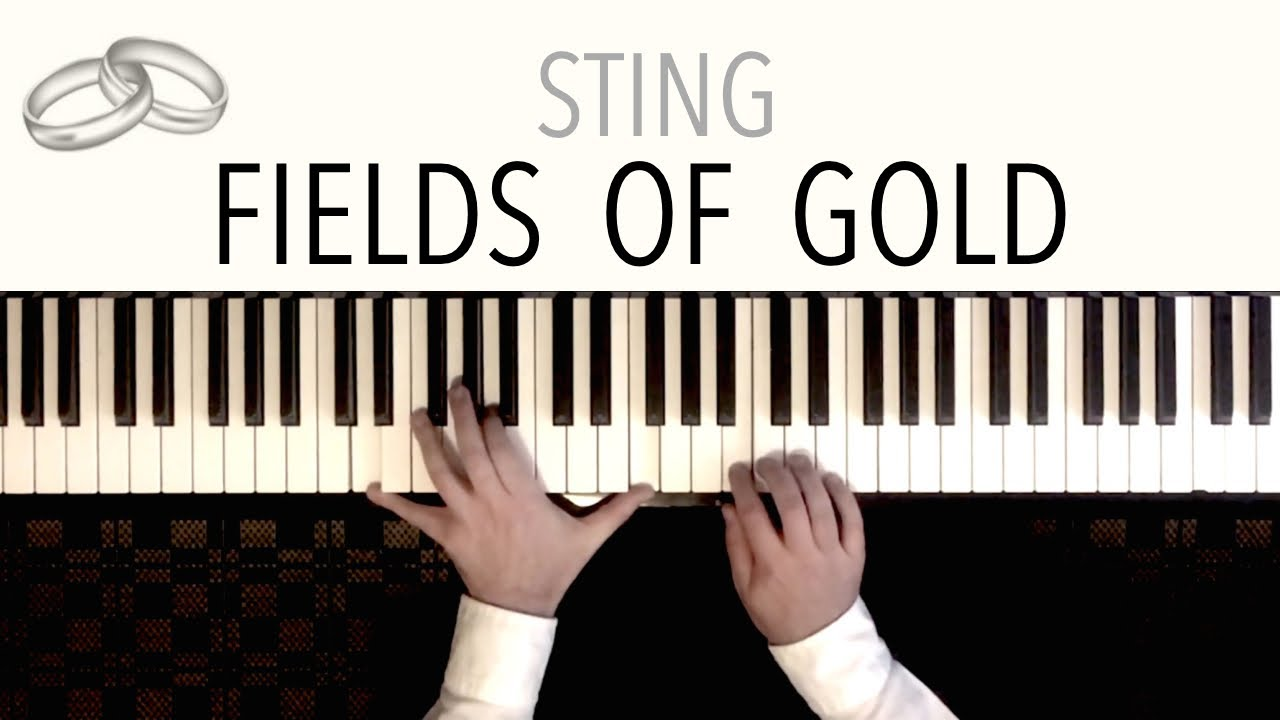 Sting Fields Of Gold Wedding Version Featuring Beethovens Ode To Joy Piano Cover