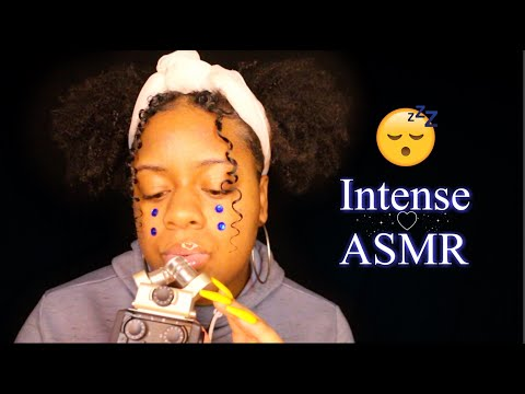 ASMR - INTENSE & SENSITIVE INAUDIBLE WHISPERS + MOUTH SOUNDS 🤤♡