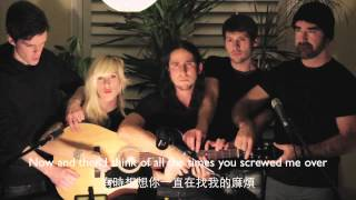 Walk off the Earth-Somebody that I used to know(Gotye) 中英字幕