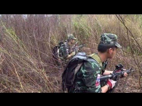 ⛔KNU KNLA Karen soldier fight Burma Army