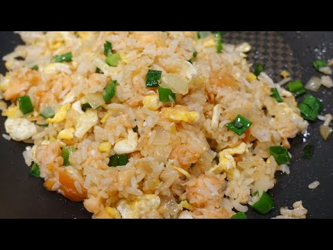 Salmon Fried Rice Easy And Testy