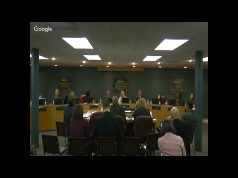 Board Of Education Special Meeting March 12 2018