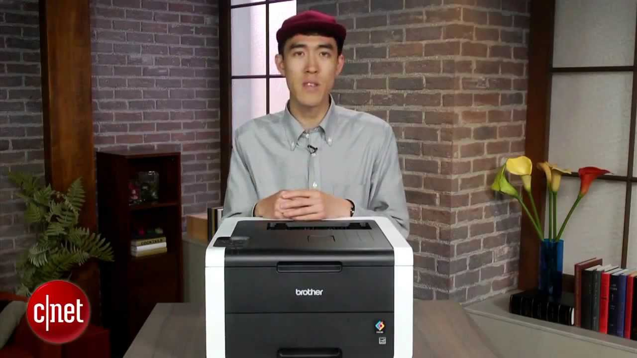 brother printer hl3170cdw wireless color printer review youtube
