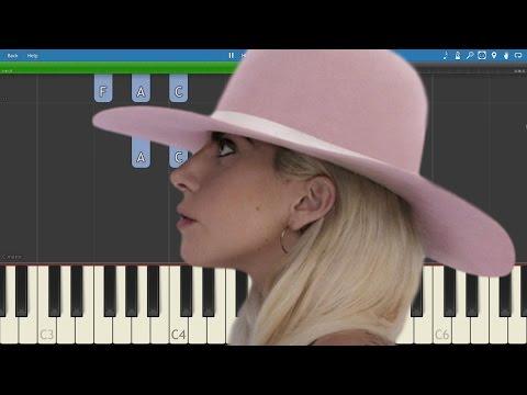 Lady Gaga - Million Reasons - Piano Tutorial - How To Play Million Reasons