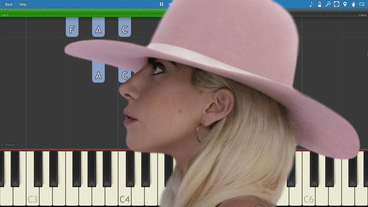 Lady Gaga - Million Reasons - Piano Tutorial - How to play ... Lady Gaga Million Reasons