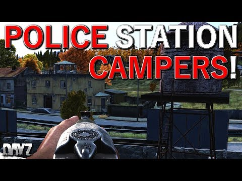 DayZ Clips 22 - Police Station Campers! [0.62]